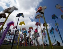 The Farningham Hobby Horse Project – A Kent Cultural Baton Project